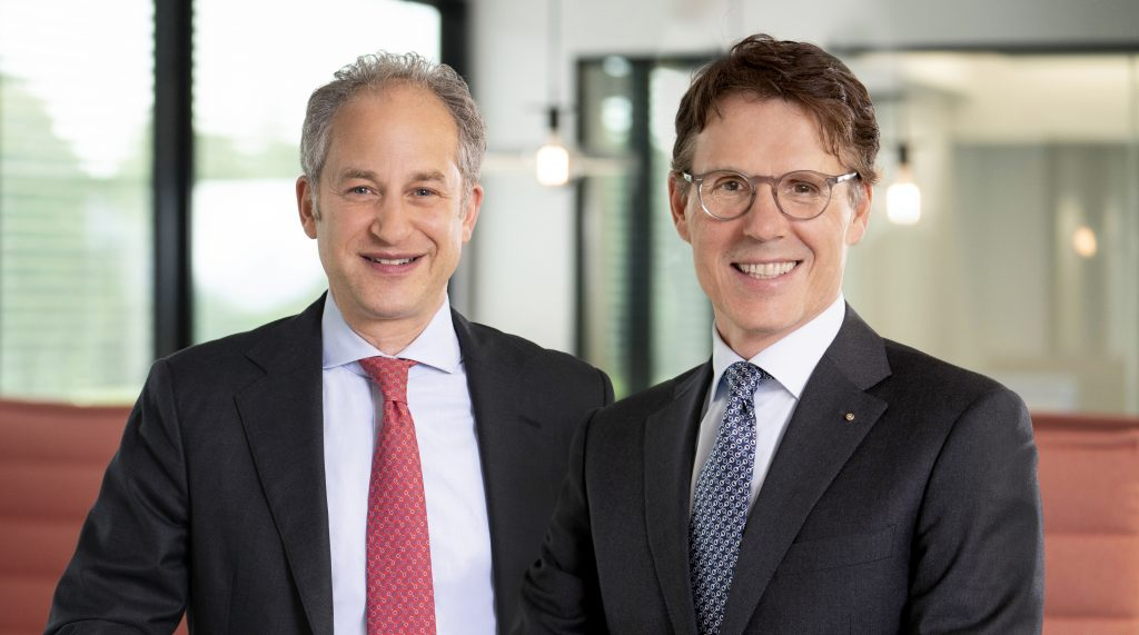 Managing Directors of Klasmann Deilmann: Moritz Böcking (left) and Bernd Wehming (right)